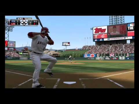 MLB 13: The Show: Texas Rangers Vs. Los Angeles Angels (2014 Rosters)