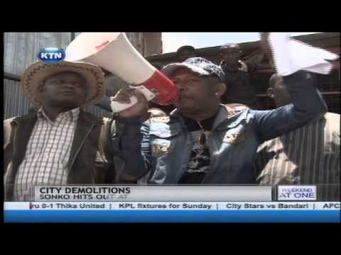 Senator Mike Sonko accuses group of politicians for land grabbing