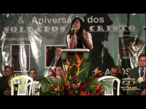 Cantora Eveny Braga - Ele me viu - no 5º Aniversário dos Soldados de Cristo