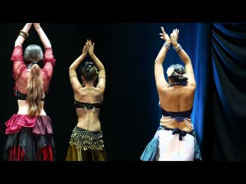 Tribal Fusion L3 Belly Dance students perform to Arure (27th June 2015, London)