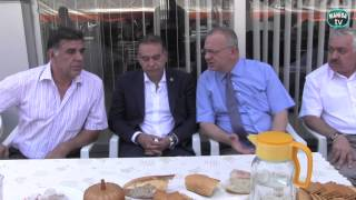 Kamber Atabey'e Cengiz Ergün'den taziye ziyareti