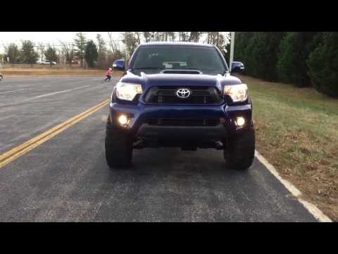Lifted 2015 Toyota Tacoma TRD sport 4x4