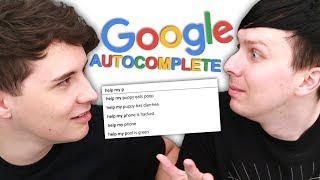 ARE GAMERS NERDS? - Google Autocomplete Game!