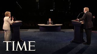 Donald Trump vs. Hillary Clinton: The Most Brutal Moments Of The Final Presidential Debate   TIME