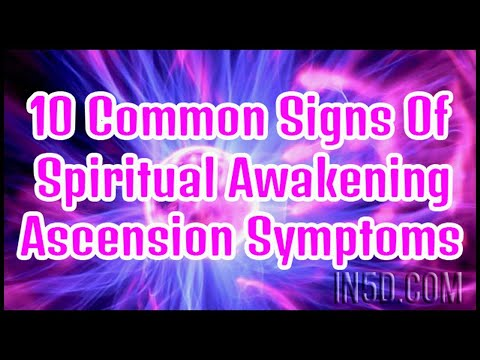 Top 10 Spiritual Awakening Symptoms | in5d.com