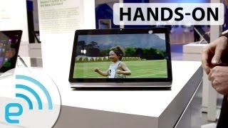 Sony VAIO Fit Multi-Flip PC Hands-on Engadget At IFA