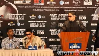 Amir Khan Vs Danny Garcia Post Fight Press Conference