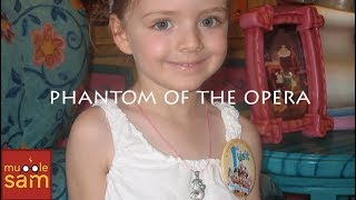 THE PHANTOM OF THE OPERA Sung By A 4-Year-Old Little