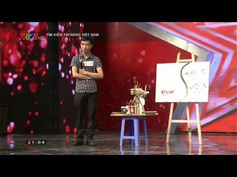 Vietnam's Got Talent 2014: Vẽ Tranh Hướng Về Biển Đông - Tập 1 - Ngày 28/09/2014