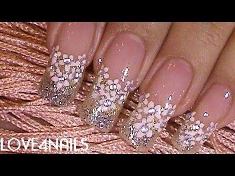 Fotos de uñas decoradas para novia | Bodas
