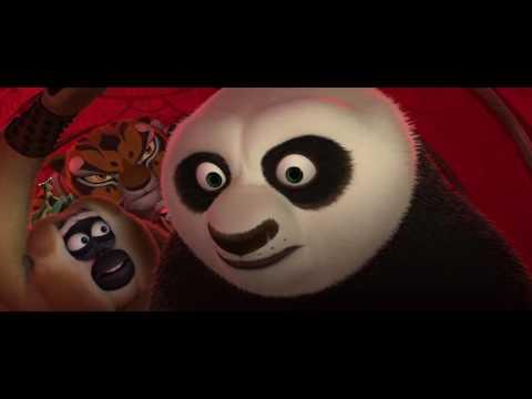 Kung Fu Panda 2  Funny Scene Sneaking into Gongmen City