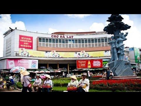 Chợ Đà Lạt - Festival hoa 2014 - Đà Lạt 120 năm