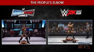 The Evolution (?) Of WWE Games Moves Animations