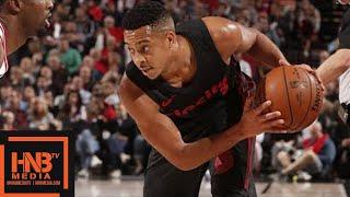 Chicago Bulls vs Portland Trail Blazers Full Game Highlights / Jan 31 / 2017-18 NBA Season