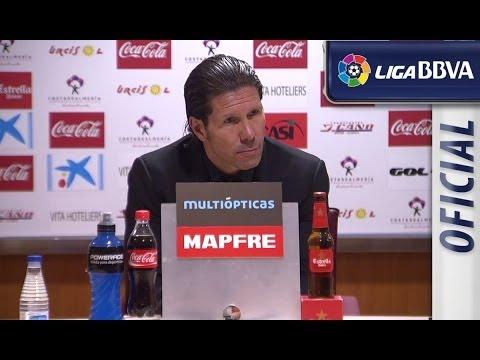 Rueda de Prensa de Simeone tras el UD Almería (2-0) Atlético de Madrid - HD