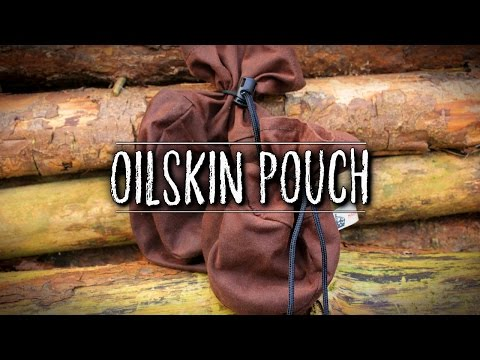 Sami-Style Oilskin Pouches for Bushcraft | TAOutdoors