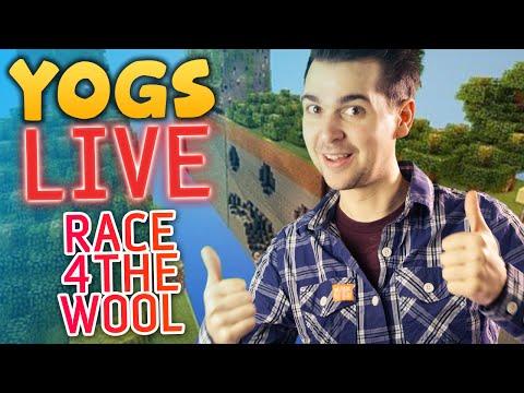 Race For The Wool #1: Yogscast Christmas Livestream 2013 - Lewis & Simon