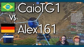 Brazil vs Germany   CaioTG1 vs Alex161