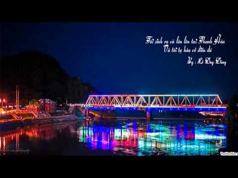 Thanh Hóa Quê Tôi  - Video Lyric - Karaoke