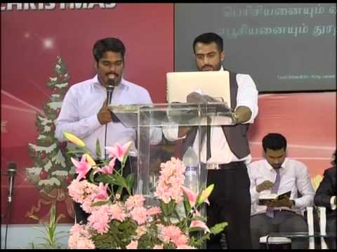 India Ministry of Pas. Dinesh Sinnathurai and Bro Andreas Lawrence 2nd Day