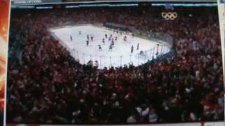 Olympic Mens Hockey Gold Medal 2010 USA Vs Canada