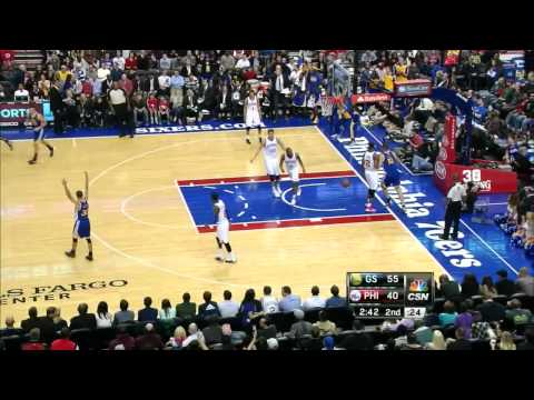 Andre Iguodala 32 points 7 3 pointers vs Philadelphia Sixers full highlights 11/05/2013 HD