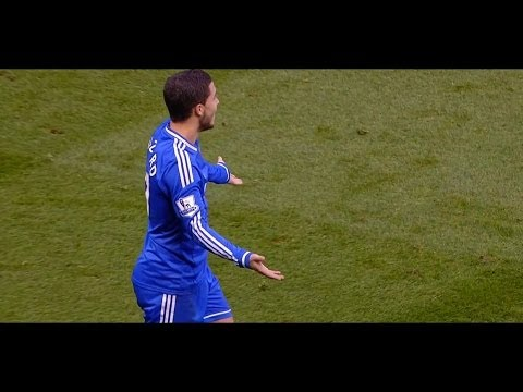 Eden Hazard vs Stoke (Away) 13-14 HD 720p By EdenHazard10i