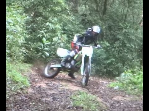 Trilha de moto - KX 250, CRF 230 e XT