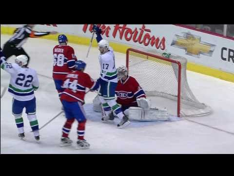 Canucks Vs Habs - Henrik Sedin Goal - 02.22.11 - HD