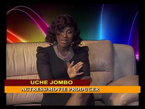 UCHE JOMBO in chat with Thecla Wilkie - ...Talks about Movies, Men and Marriage.