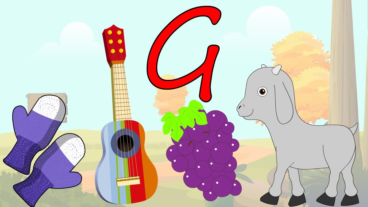 Learn About The Letter G - Preschool Activity