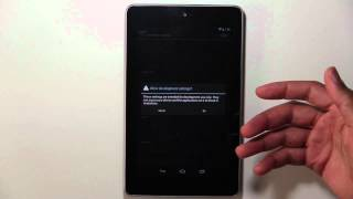 How To Enable USB Debugging Mode On Nexus 7