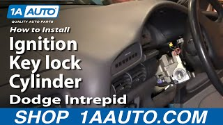 How To Install Replace Fix Ignition Key Lock Cylinder
