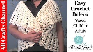 Teach Yourself How To Crochet : EASY TO CROCHET BLANKET - UNIQUE LOOK - YOLANDA SOTO LOPEZ - VIDEOS DE ...