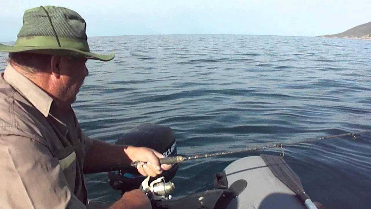 морская ловля воблером