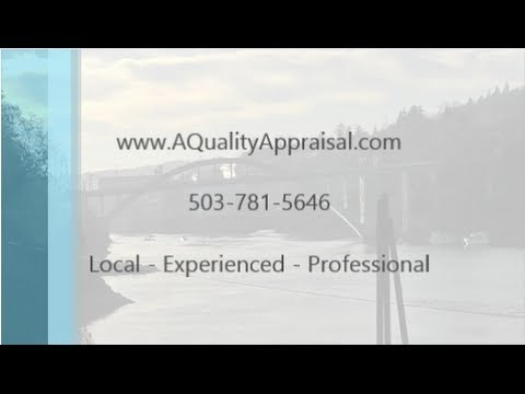 Oregon City Appraiser -  503 781 5646