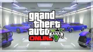 GTA 5 Online: Garage Tour! GTA Online Rare & Super Cars