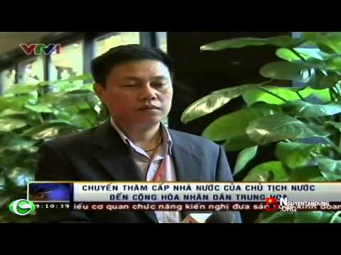 Chuyến thăm cấp Nhà nước của Chủ tịch nước Trương Tấn Sang đến CHND Trung Hoa