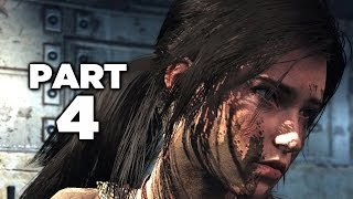 NEW OUTFITS - Tomb Raider Definitive Edition Gameplay Walkthrough Part 4 (PS4 XBOX ONE)