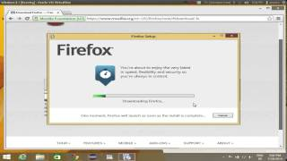 How To Download And Install Firefox On Windows 8 / Windows