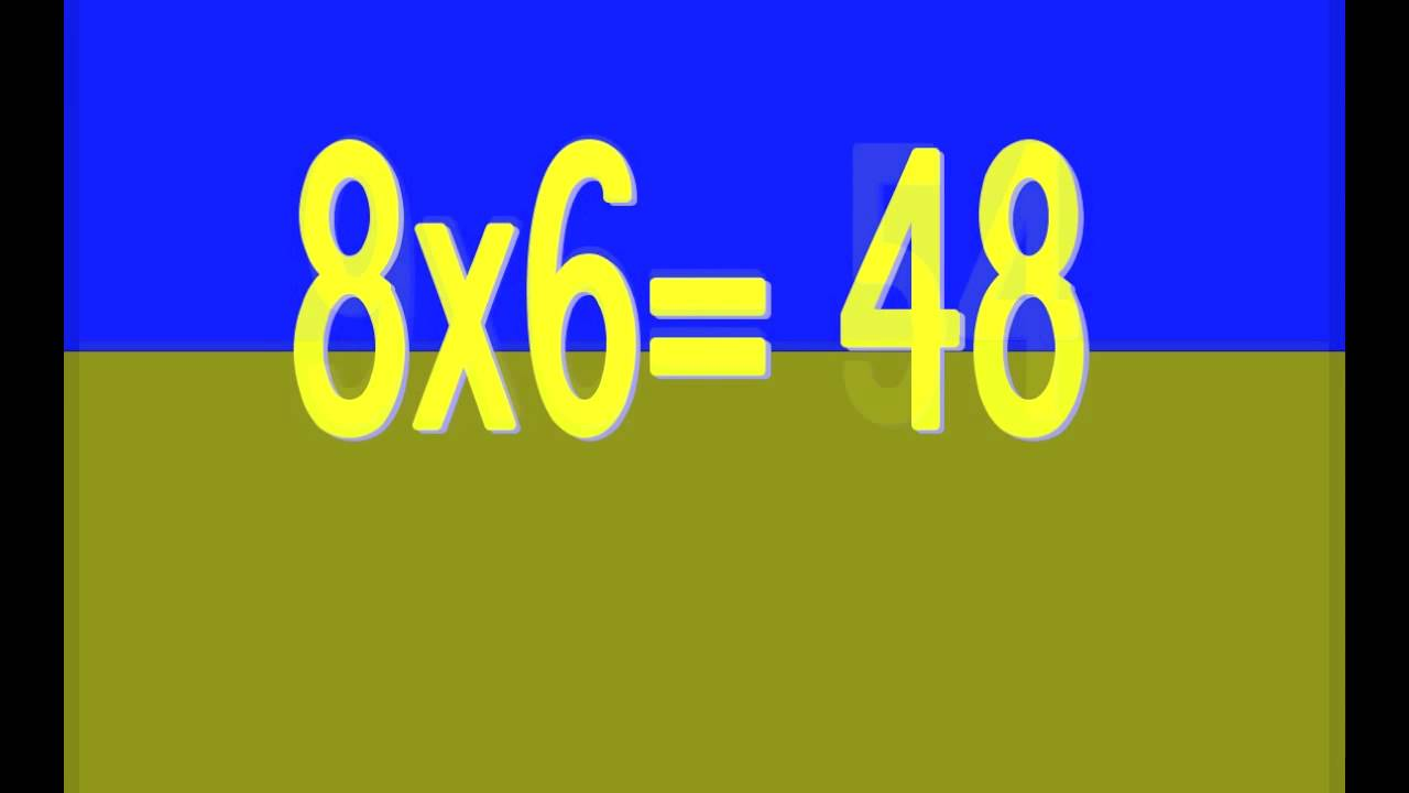 Times tables song 1 12 youtube for 12 times table song