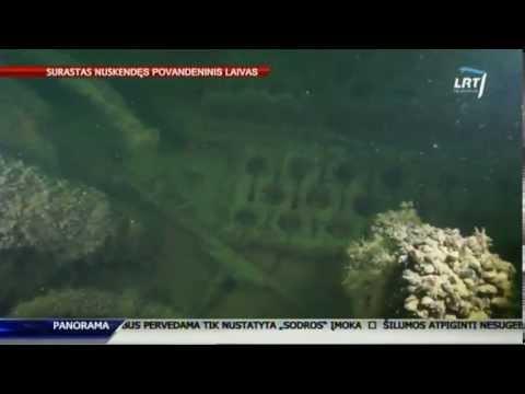 Baltijos jūroje lietuviai surado nuskendusį povandeninį nacių laivą