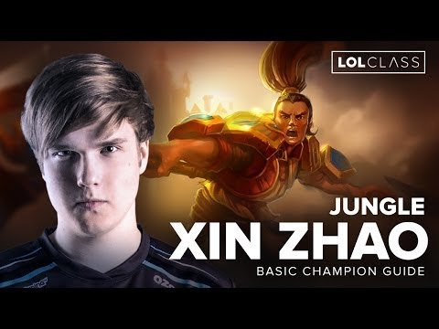Jungle Xin Zhao Guide with OG Amazing   Season 6   League of Legends