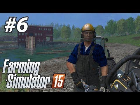 TESTERELİ KATİL! - Farming Simulator 15 | Bölüm 6