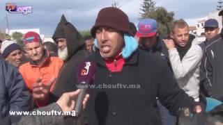 شوفو كيفاش كيعيشو سكان كاريان بالقرب من قصر المؤتمرات بالصخيرات مع التساقطات المطرية(فيديو صادم) |