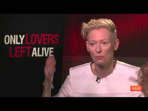 Only Lovers Left Alive Interview With Tilda Swinton [HD]