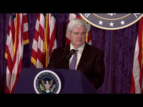 Speaker Newt Gingrich Talks