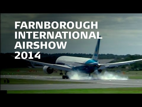 Farnborough Airshow 2014 | Boeing 787-9 Monday