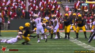 Kevin White (WR West Virginia) Vs Maryland 2014