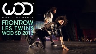 Les Twins | World of Dance | FRONTROW | WODSD 2013